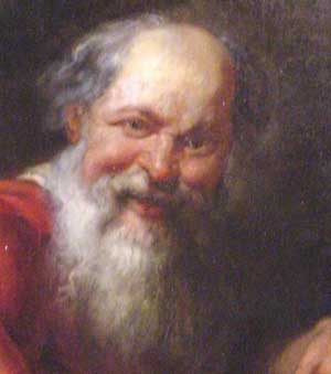 Democritus could guess about the existence of atoms.