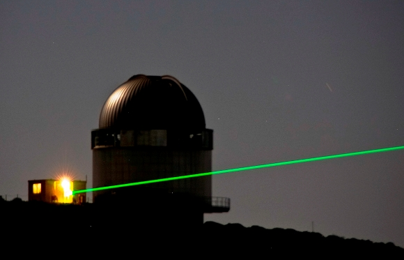 The laser beam is used very many purposes