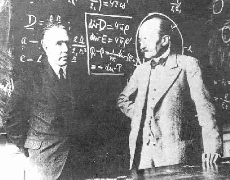 Bohr and Planck develop quantum mechanics.